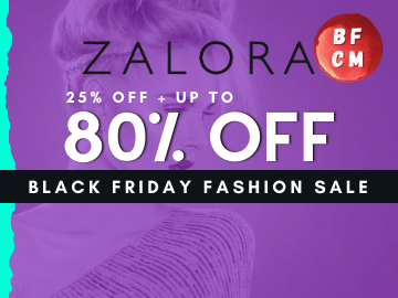 Black Friday Special! Get up to 80% off + 25% off on Zalora with this exclusive new user promo code