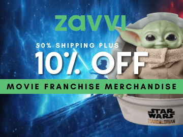 Enjoy 10% off + Half Price on shipping with this exclusive Zavvi promo code