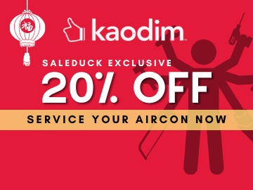 Get 20% off on Aircon Servicing with this exclusive Kaodim promo code