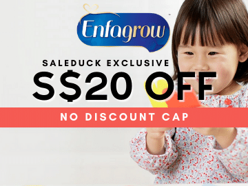 Get S$20 off on your Enfamama and Gentlease Stage 3 purchases with this exclusive Enfagrow promo coded