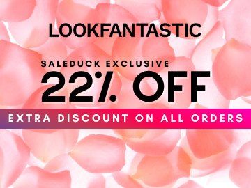 Grab this exclusive Lookfantastic coupon code to enjoy 22% off on your purchase