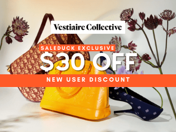 New user discount of S$30 off when you spend more than S$300 with Vestiaire Collective promo code