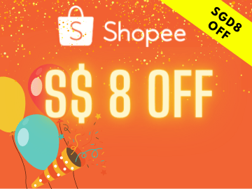 New User Exclusive! Enjoy SGD8 off your purchase with this exclusive Shopee promo code