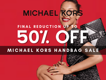 Shop the Michael Kors Sale now and enjoy up to 50% off on handbags