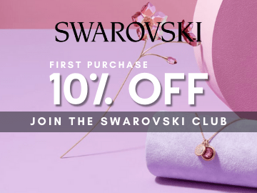 Sign up for Swarovski Newsletter and receive 10% off on your next purchase